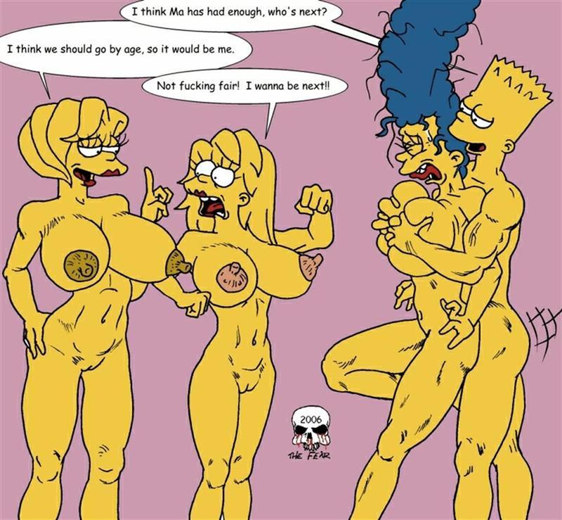Порно симпсоны феар 78188 фотография