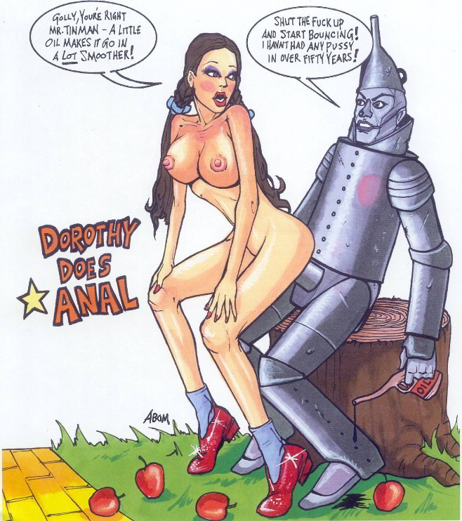 The wizard of oz porn