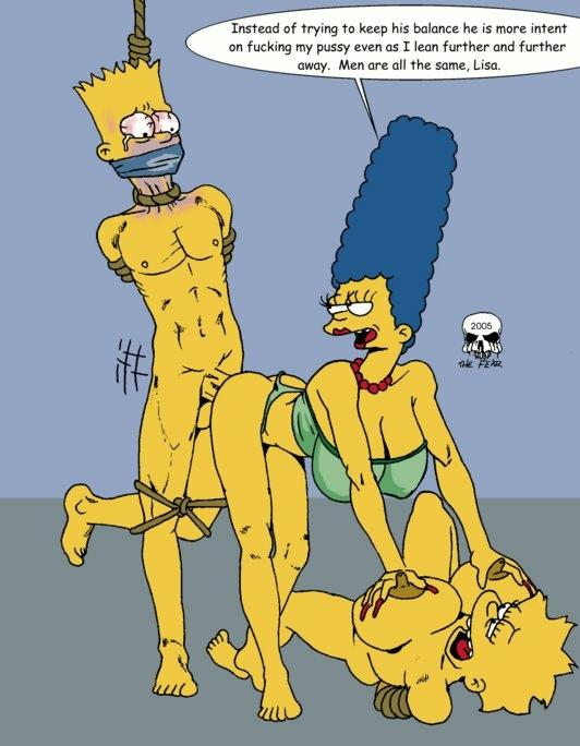 Simpsons bondage