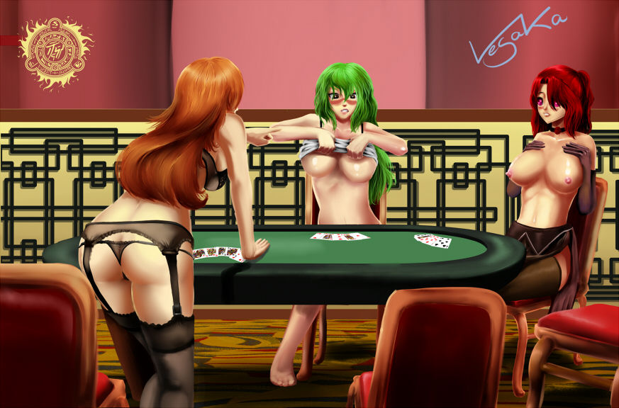 Manga strip poker