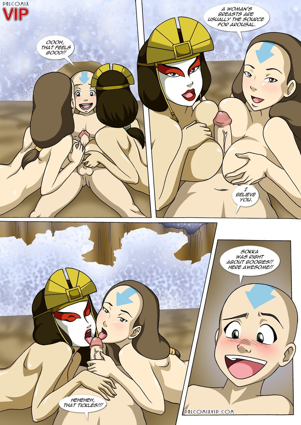 Avatar: the last airbender porn