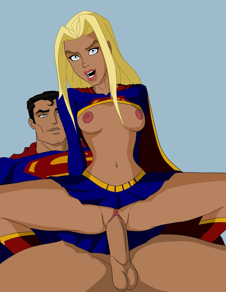Superwoman have sex naked — photo 3