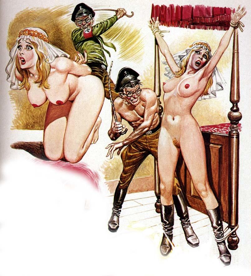 Young adult nazi bondage comics