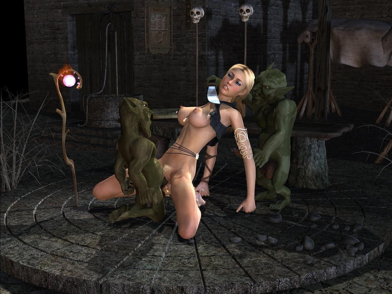3d lesbians and orcs naked gallery