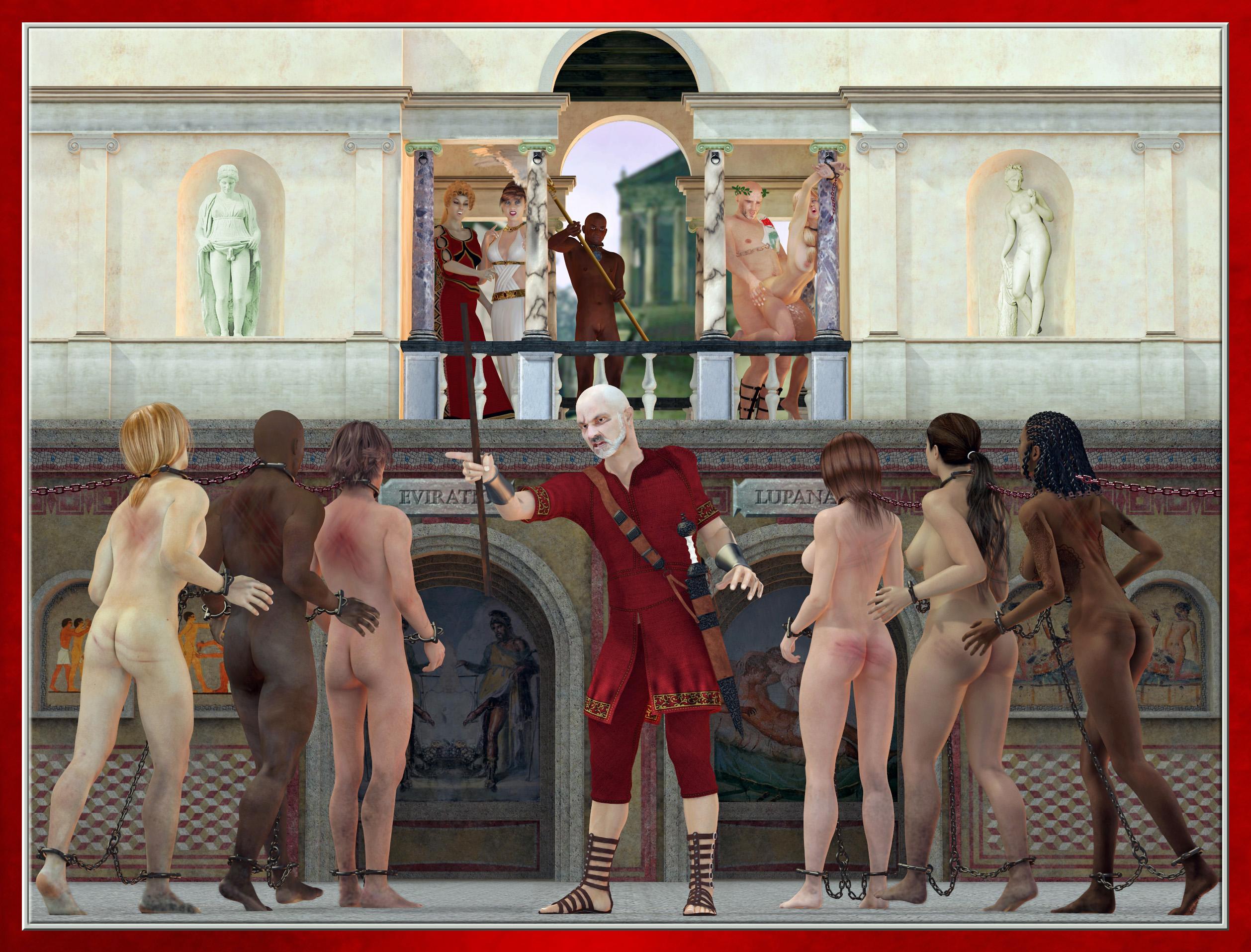 Рассказы для порно римляна рабы
