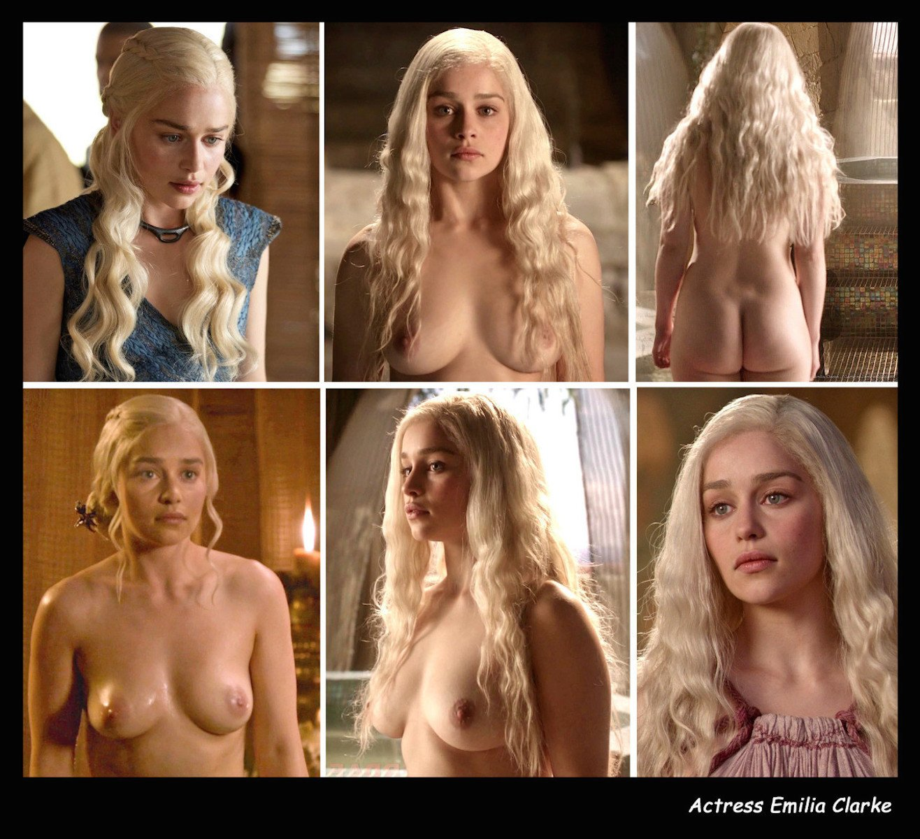 Emilia clarke on terrifying nude scenes, pressure to please game of thrones fans
