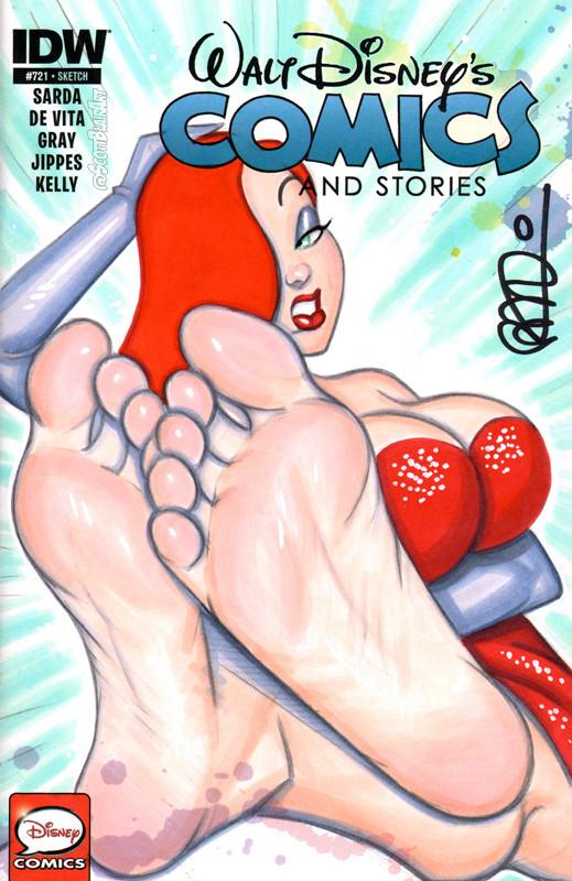 Mistress Red Devil Feet