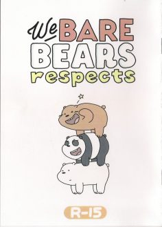 We BARE BEARS respects (We Bare Bears) [Japanese, English]