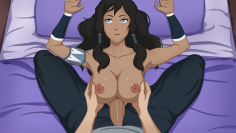 Korra Trainer Art Update – Titfuck and Cumming