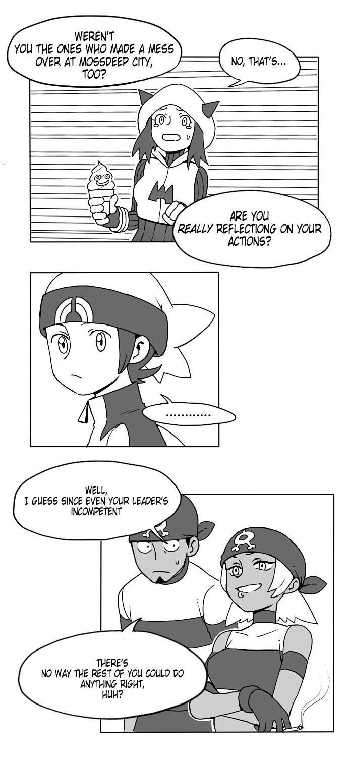 Dating a team magma grunt (pokemon) english