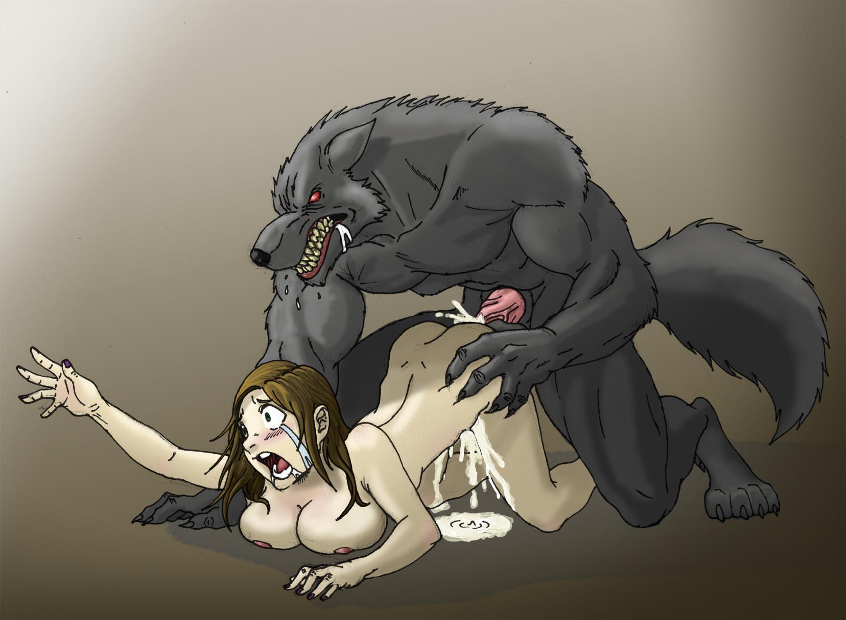 секс порно мультики секс с оборотнями
