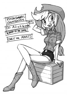 Psychosomatic Counterfeit EX- A.J. in E.G. Style (Ver. 02) (My Little Pony: Friendship Is Magic) [English]