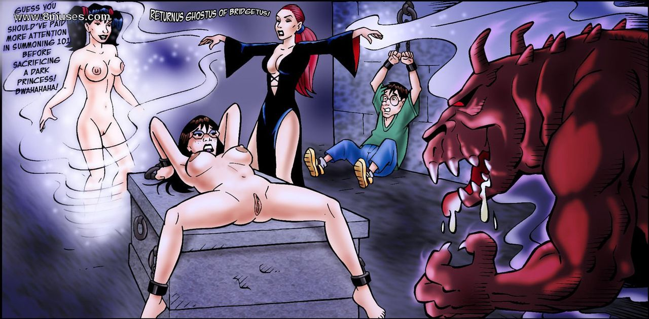 read pulptoon black magic hentai online porn manga and