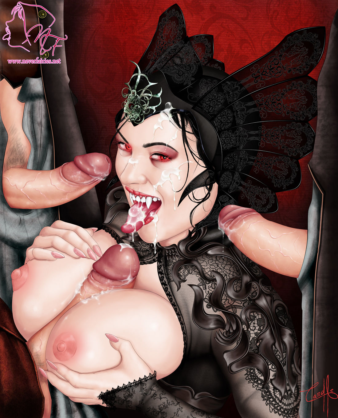Legged ladies vampire sex video