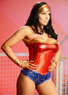 Romi Rain is Wonder Woman