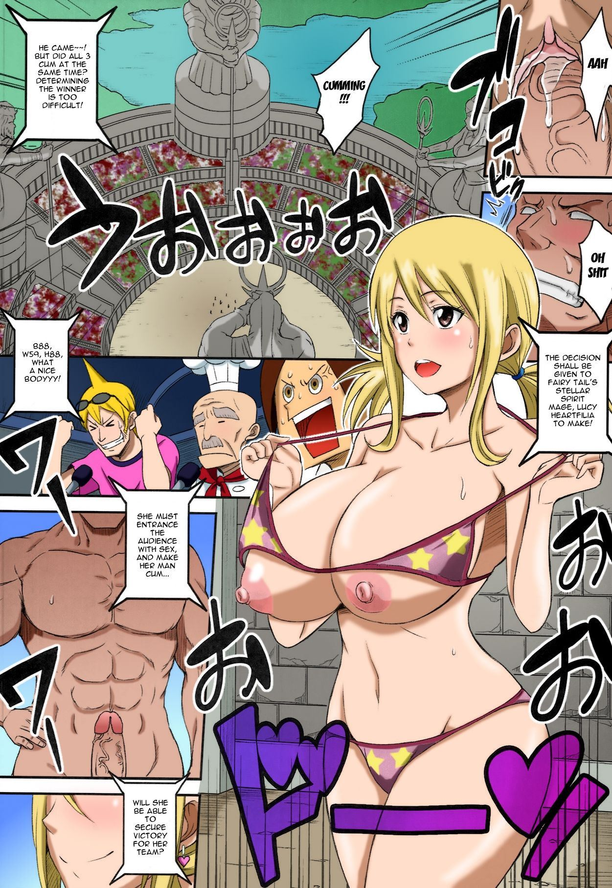Fairy Bitch (FAIRY TAIL) [English] [Decensored] Hentai ...