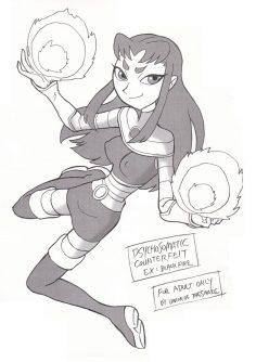 [Union Of The Snake (Shinda Mane)] Psychosomatic Counterfeit Ex: Blackfire (Teen Titans)
