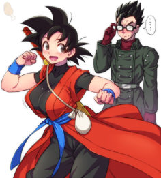 [Te ba mo toko.]Iron'na kyara no jotaika[dragon ball super]