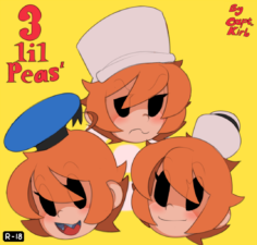 [CaptainKirb] 3 Lil Peas (Skullgirls) [English]