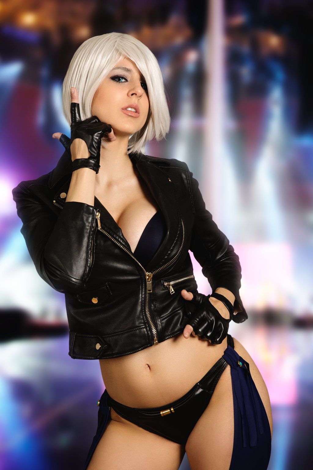 Angel king of fighters cosplay