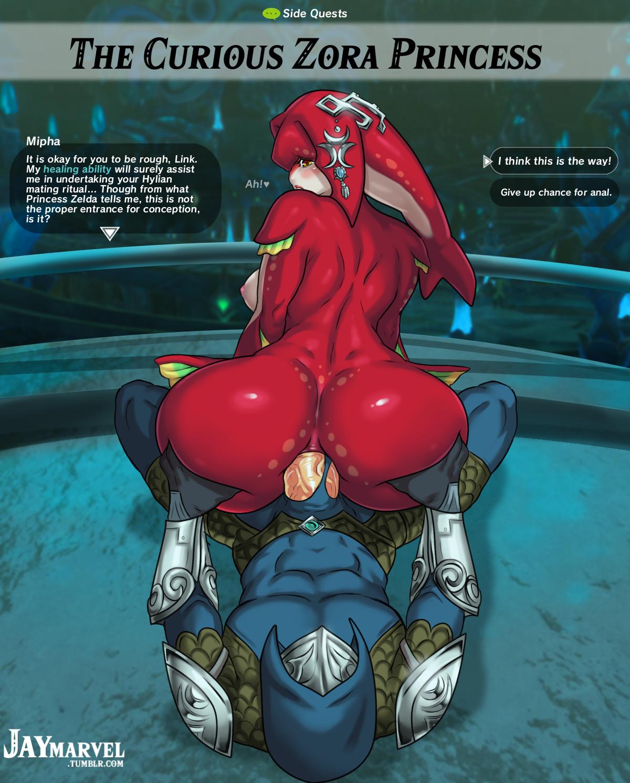 Zelda Mipha Hentai