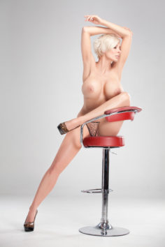Marie Claude Bourbonnais Red chair