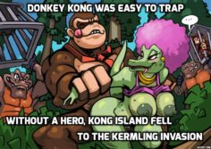 The Defeat of Kong Island( Bad End Donkey Kong)