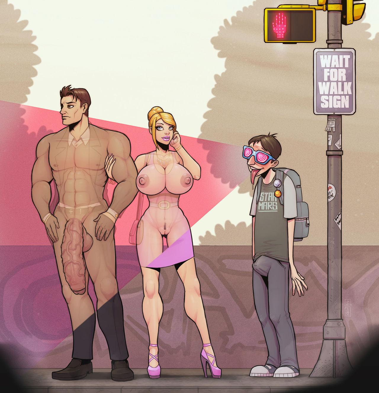 anime gay x ray