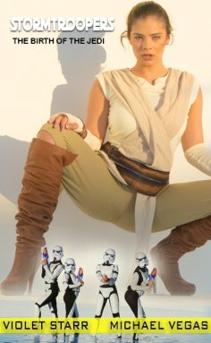 [ScrewBox] Violet Starr in The Birth Of The Jedi (Star Wars)
