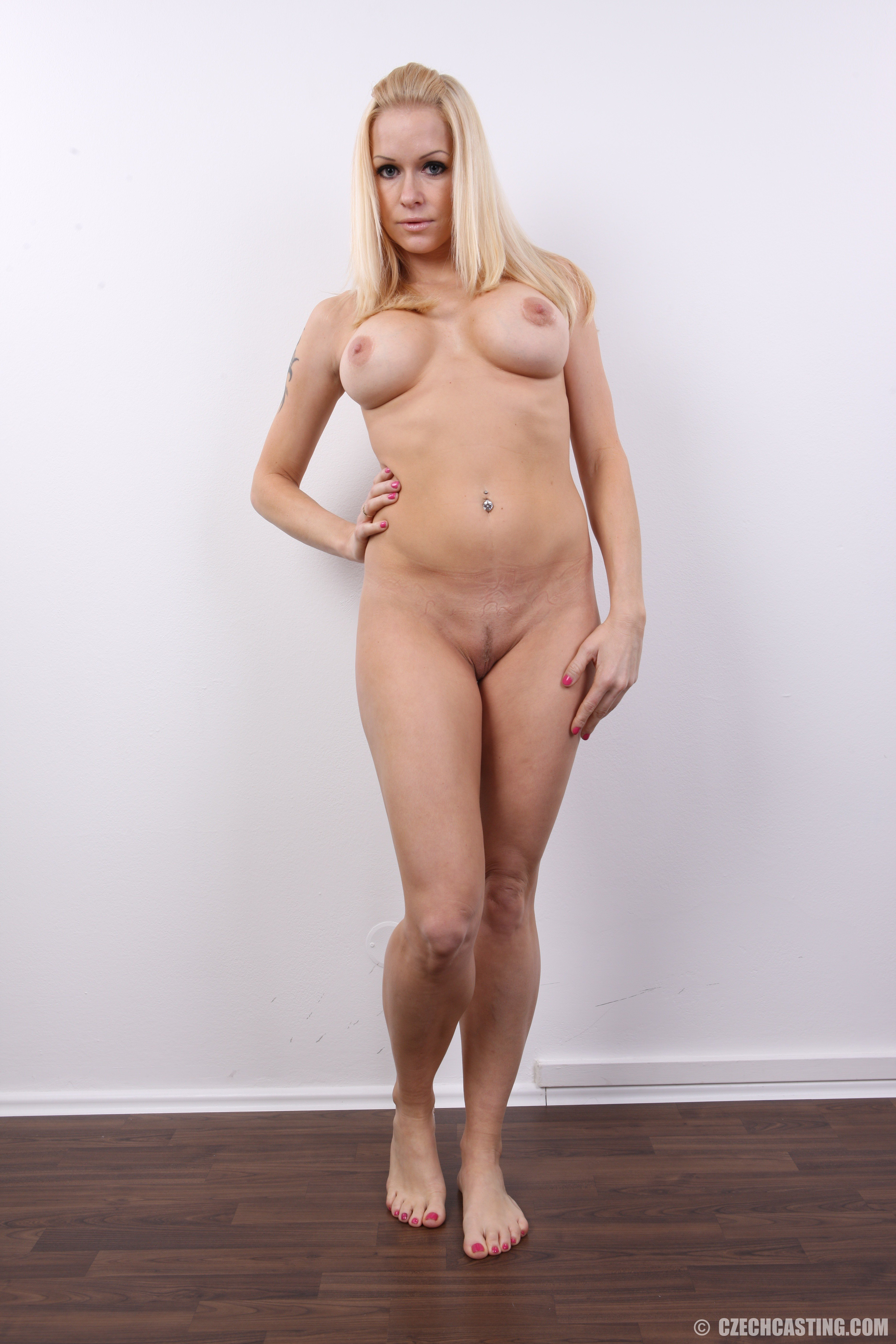Topless Czech Casting Nude Pic