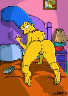 The simpsons by Señor X