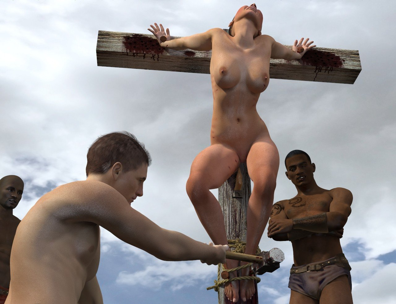 Crucifixion fetish