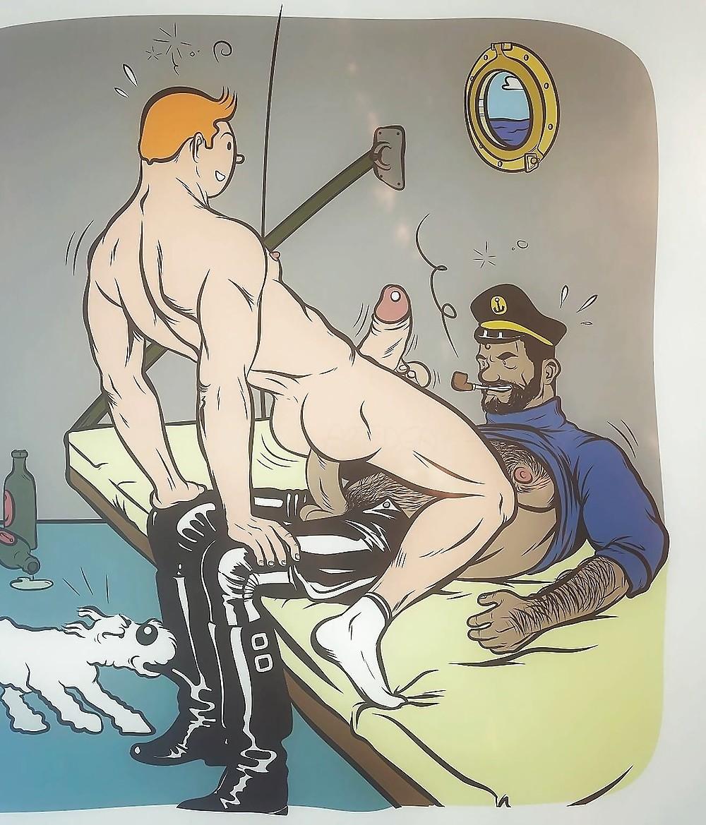 Gay Toons Gay Cartoon Log
