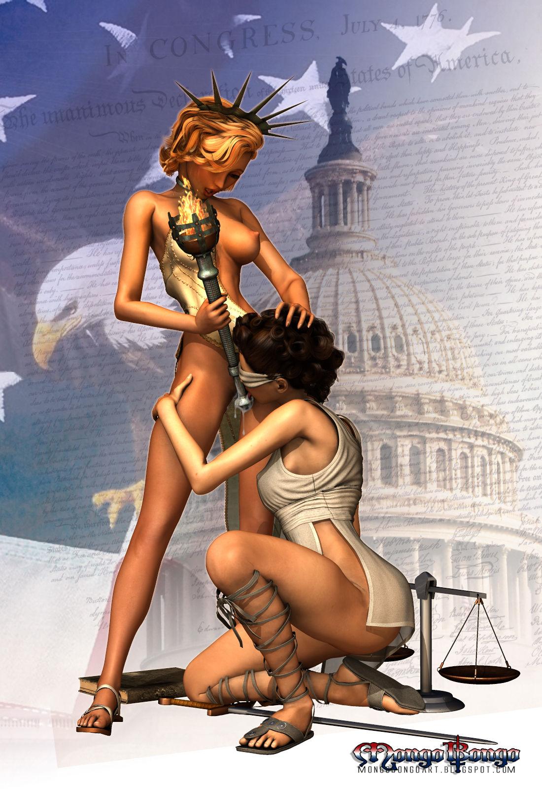 Statue porn