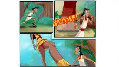 Attack Og 50 foot Malina (Giantess)