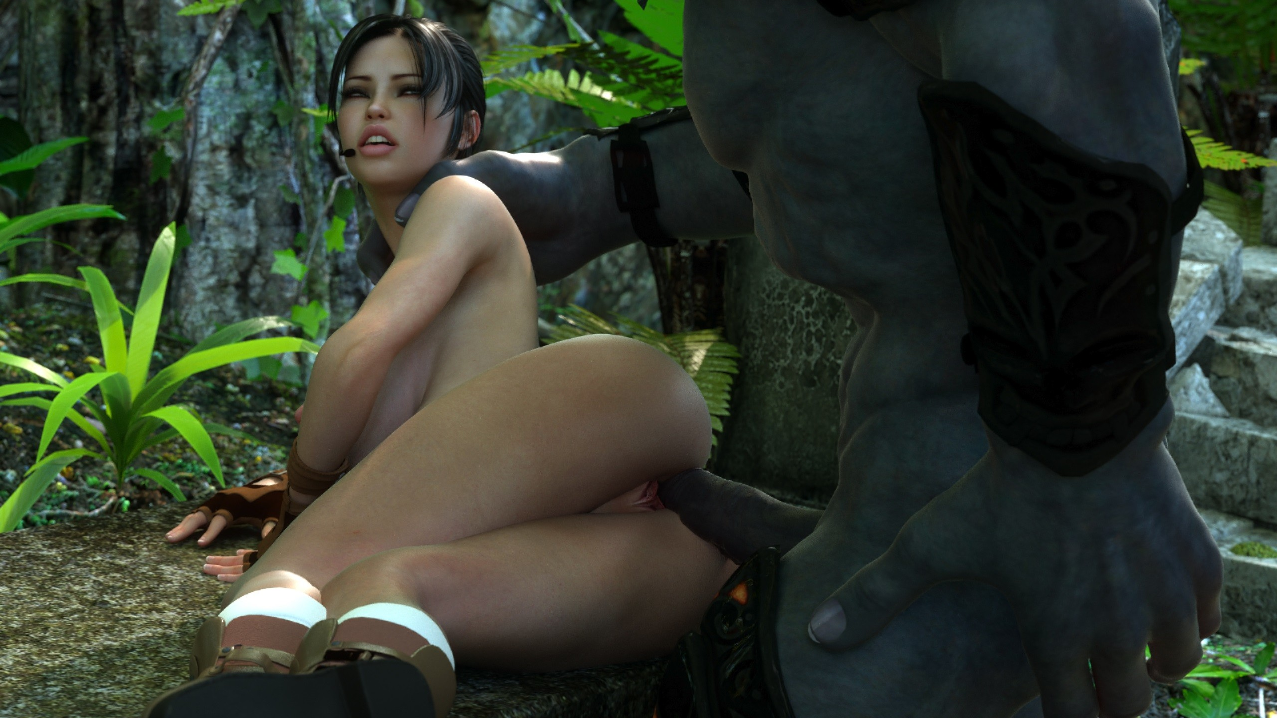 Sex in jungle