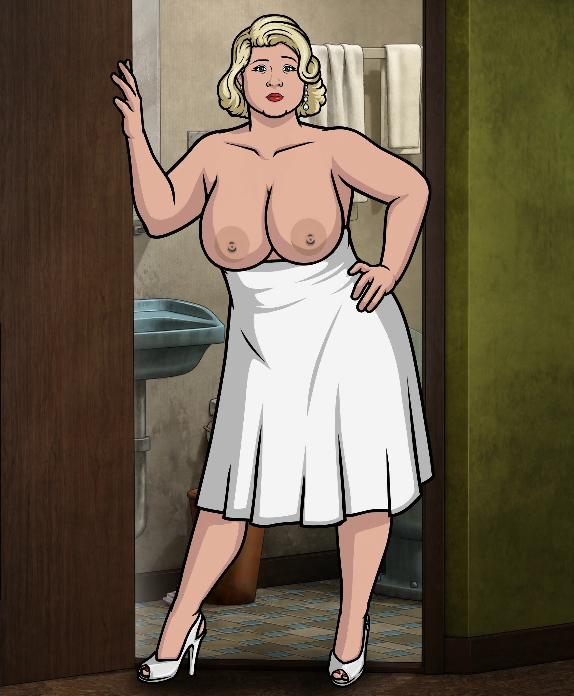 Pam from archer nude — photo 11