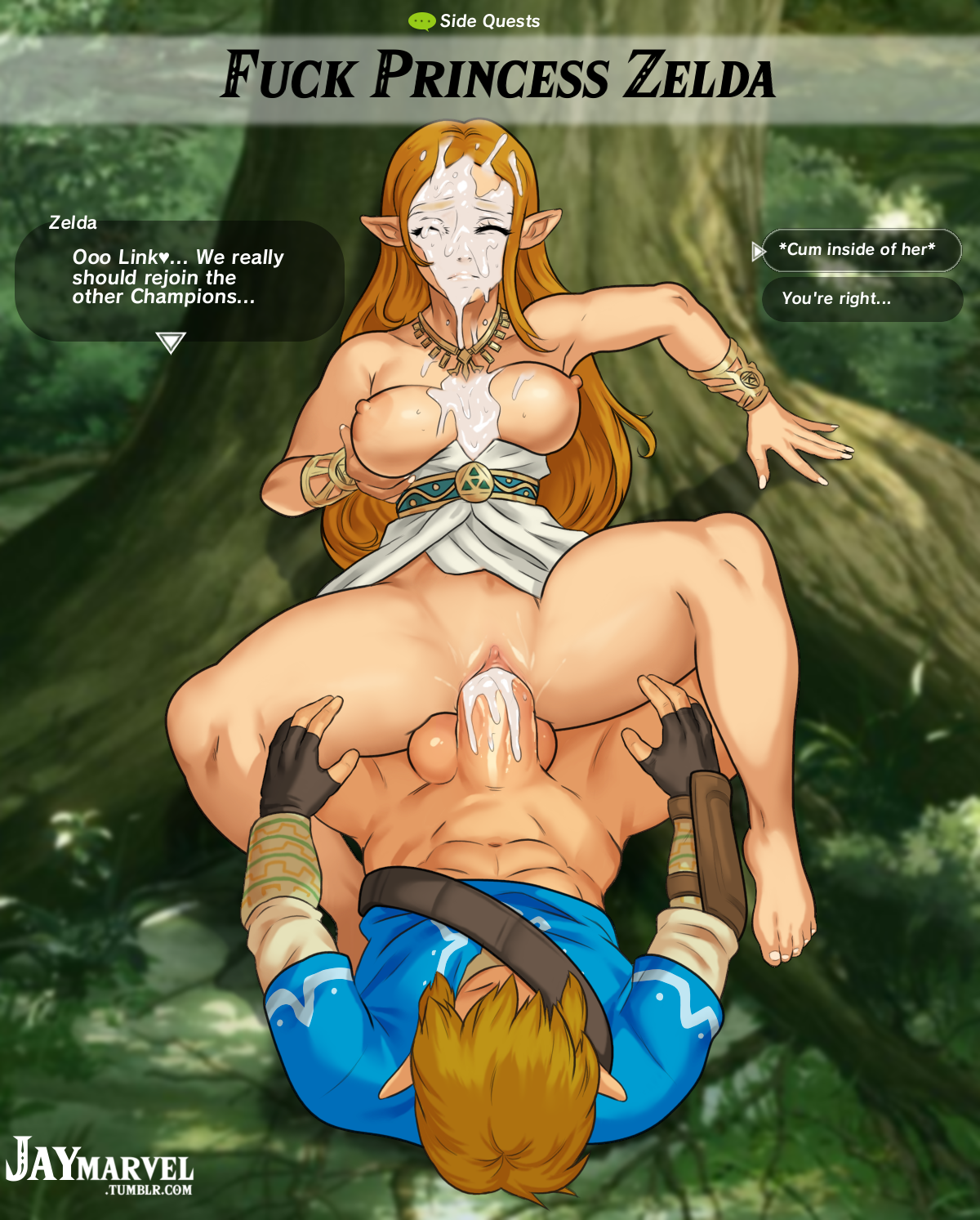 zelda breath of the wild hentai