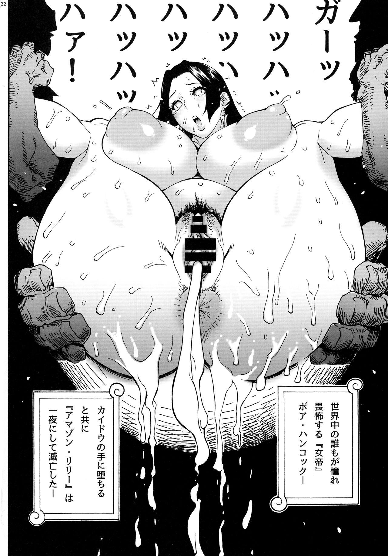 One piece amazon lily hentai