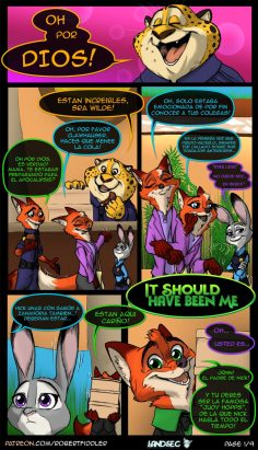 [Robertfiddler] It Should Have Been Me (Zootopia) (Spanish) [Landsec]