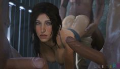 TOMB RAIDER LARA CROFT KIDNAPPED COMPLIATION