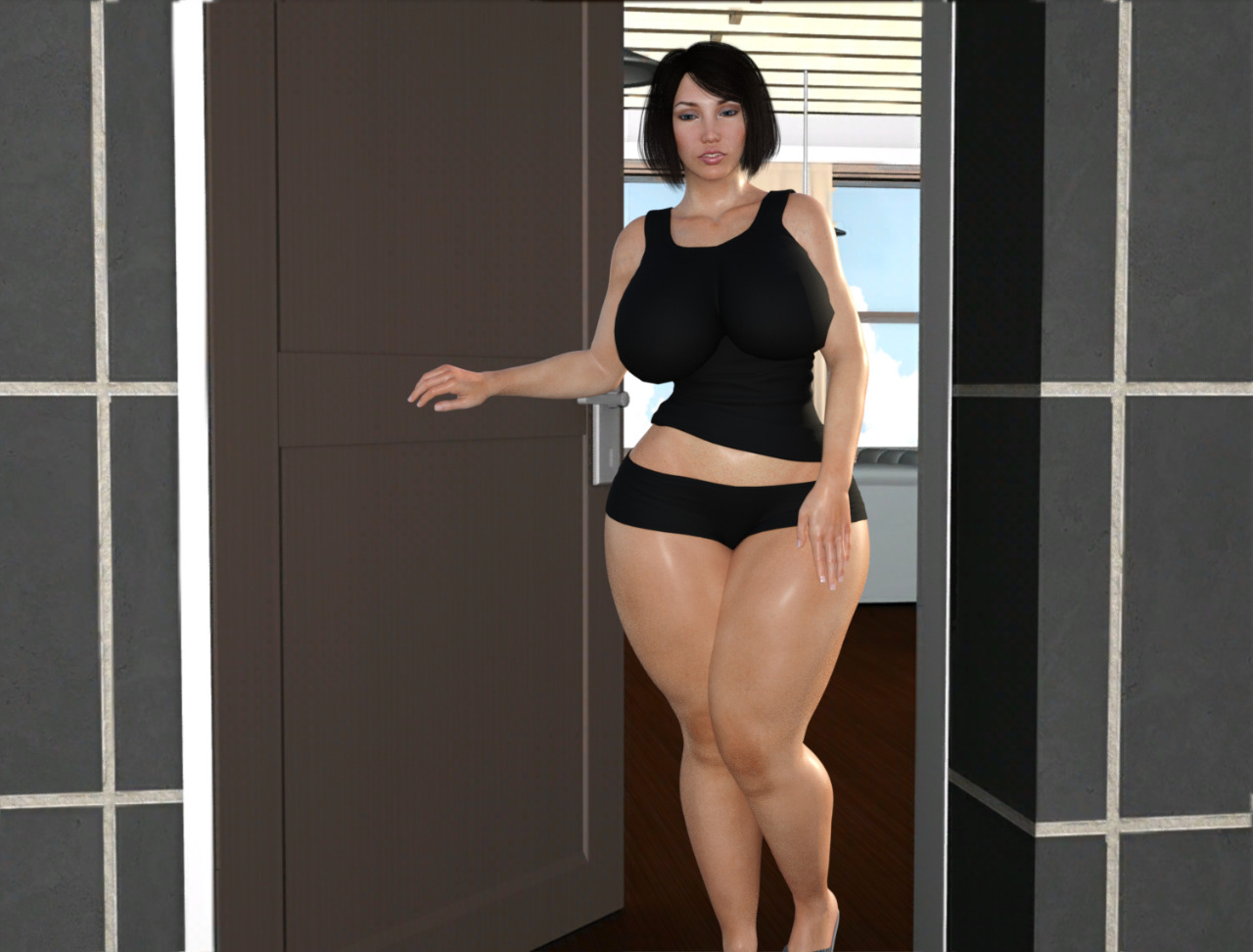 3d Mother - Foster mother 2