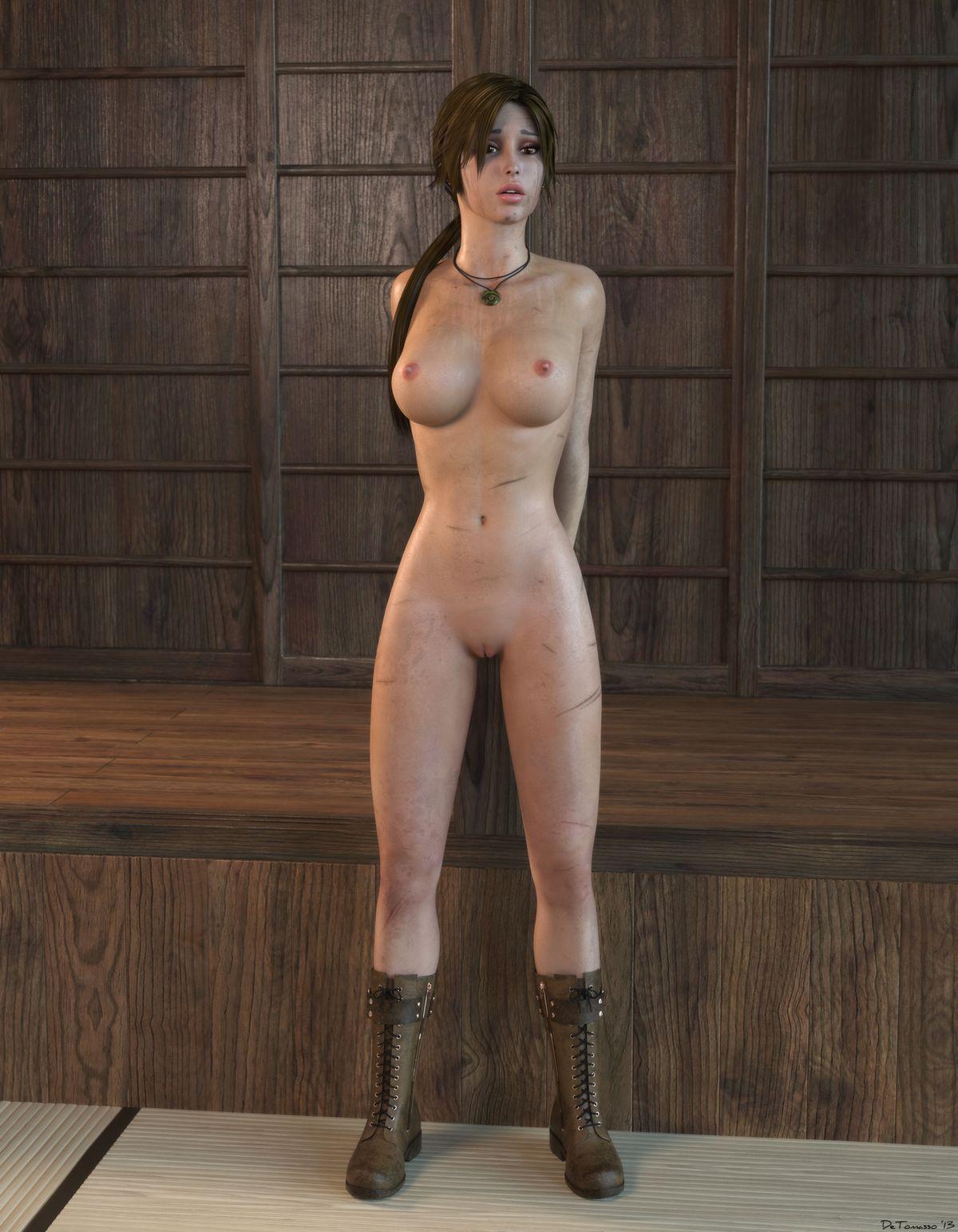 Tomb raider nude scene