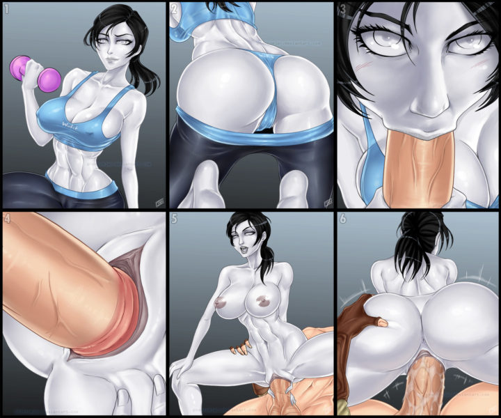 Wii fit trainer sex