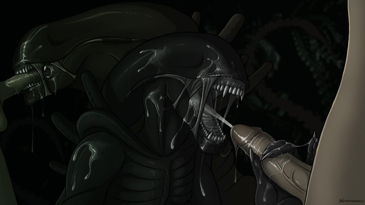 Free alien cumshot videos