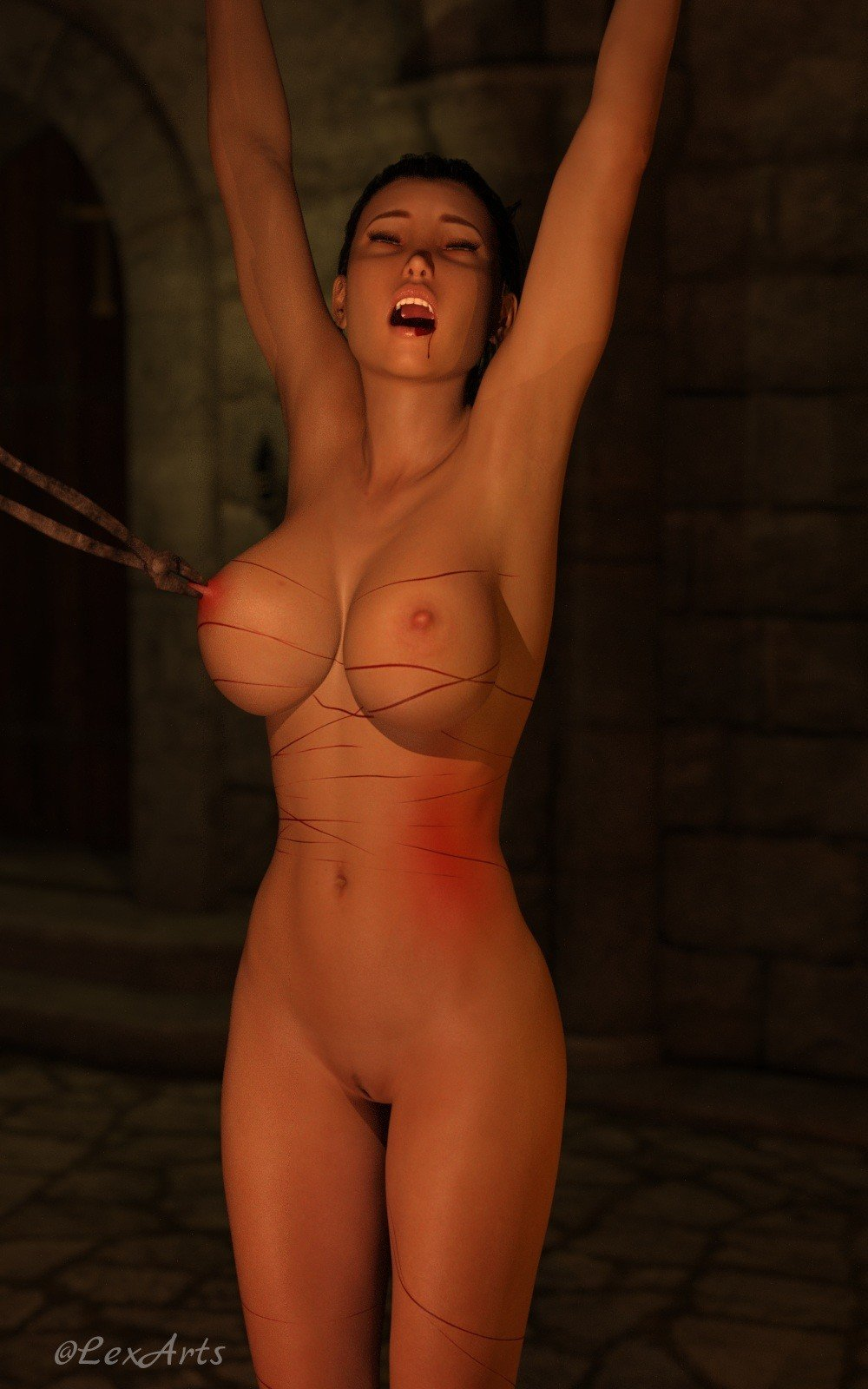 Breast bdsm