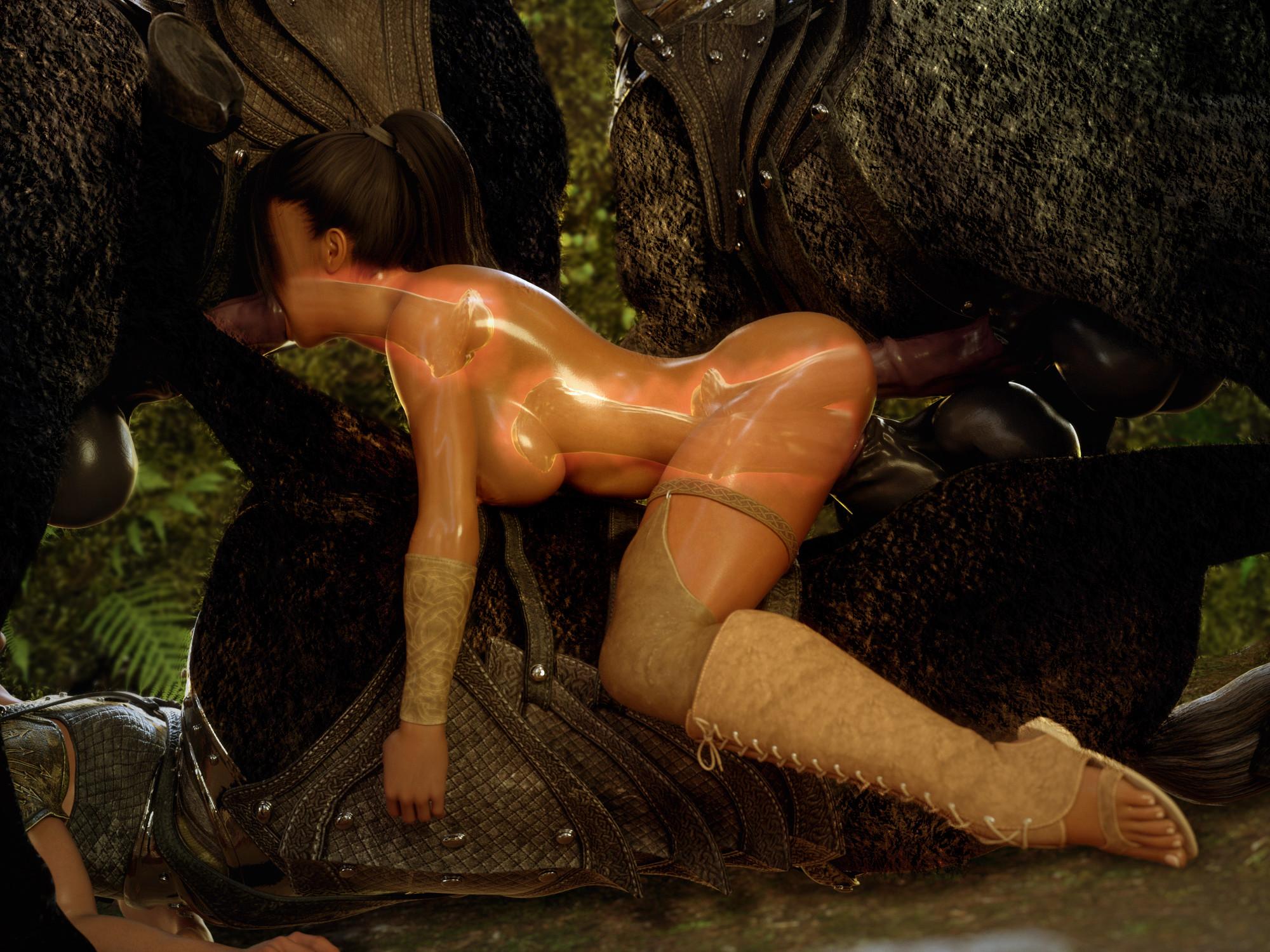 Порно Мультики Кентавры Монстры