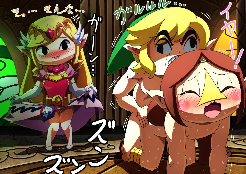 Zelda wind waker porn
