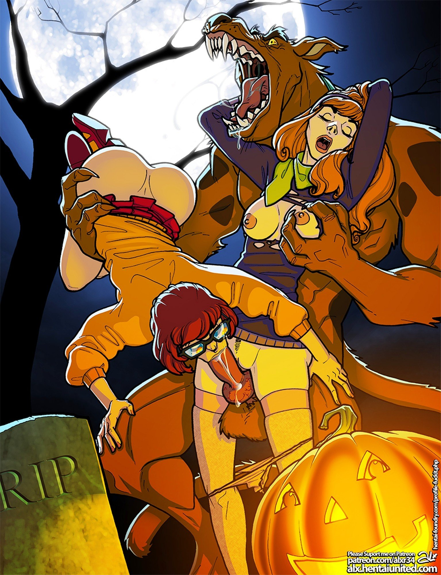 daphne from scooby doo geting raped newd