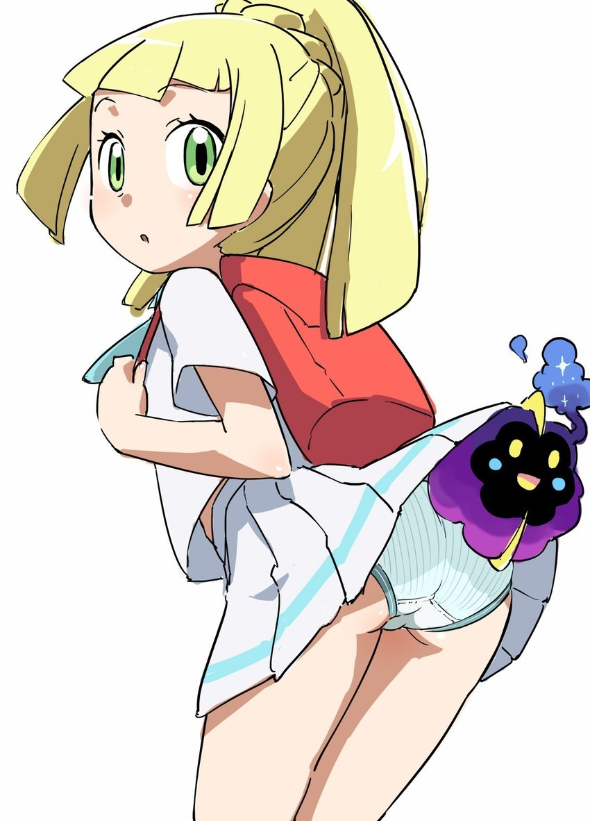 Pokemon sun and moon lillie porn